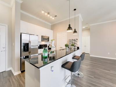 McKinney Uptown Apartment Kitchen